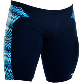 Funky Trunks Jammer Bathing Trunk Children blue/black